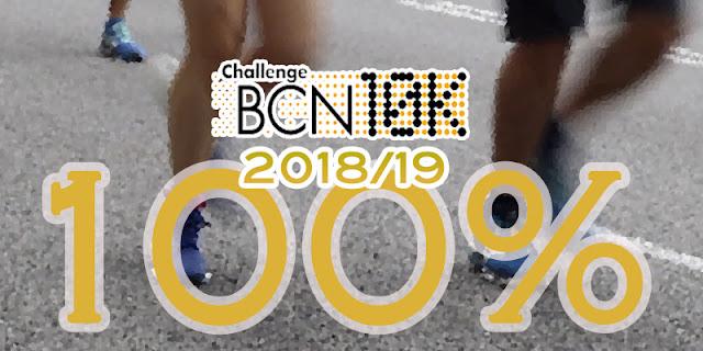 17 corredores completan la ChallengeBCN10K 2018/19