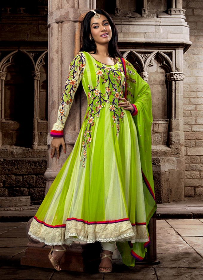 new anarkali suits  indian anarkali fashion 20132014