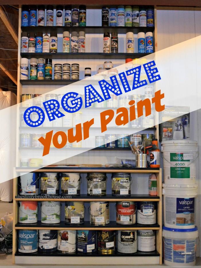 Organize Your Paint