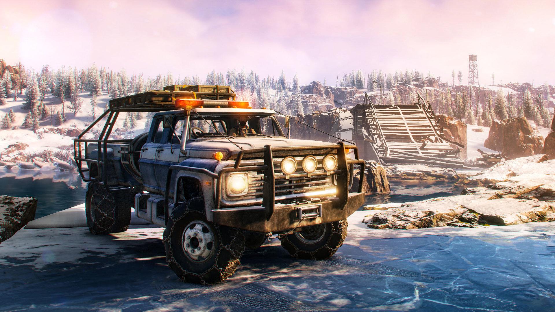 SnowRunner reveals spectacular screenshots as Season 2: Explore & Expand revs up on November 16