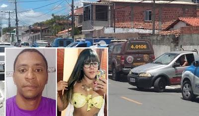Bahia: Policial surta, atira contra batalhão, mata esposa em salão e comete suicídio em seguida.
