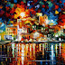 Riflessioni in riva al mare: quadri d'estate con Leonid Afremov