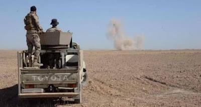 اللواء 56 بالحشد يصد تعرضا لداعش جنوب غرب كركوك