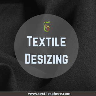 textile desizing process- pre treatment in dyeing