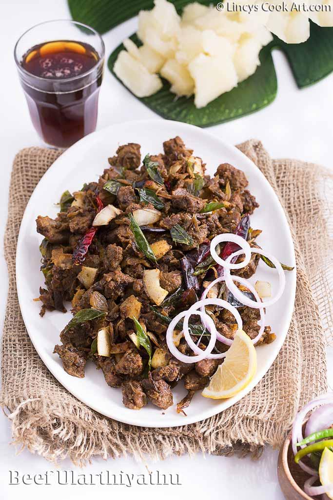 Kerala beef Ularthiyathu recipe