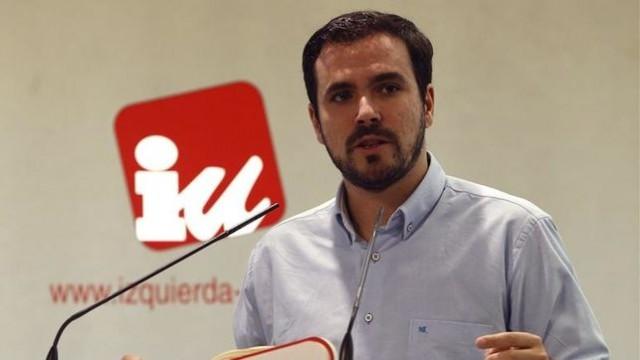 lberto Garzón apoya a Colau en su decisión de expropiar el uso de un piso vacío propiedad del BBVA