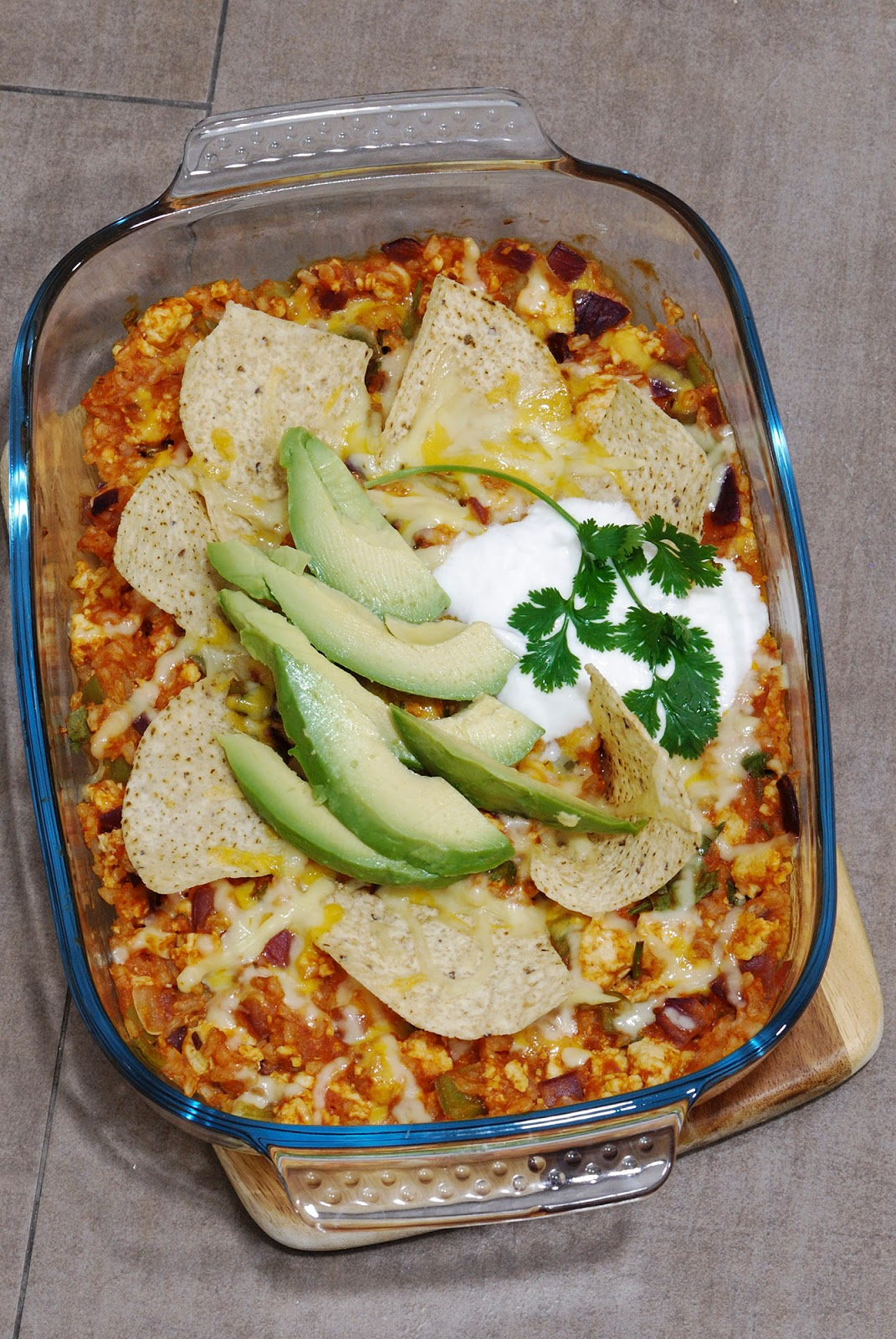 chicken tortilla enchilada rice bake mexican food