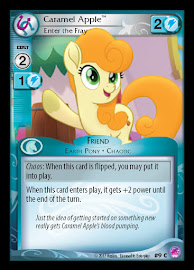 My Little Pony Caramel Apple, Enter the Fray Seaquestria and Beyond CCG Card