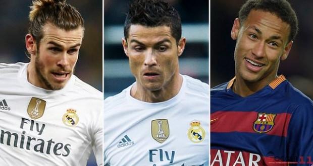 Gareth Bale, Ronaldo, Neymar