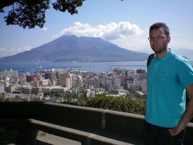 Volcán Sakurajima en Kagoshima