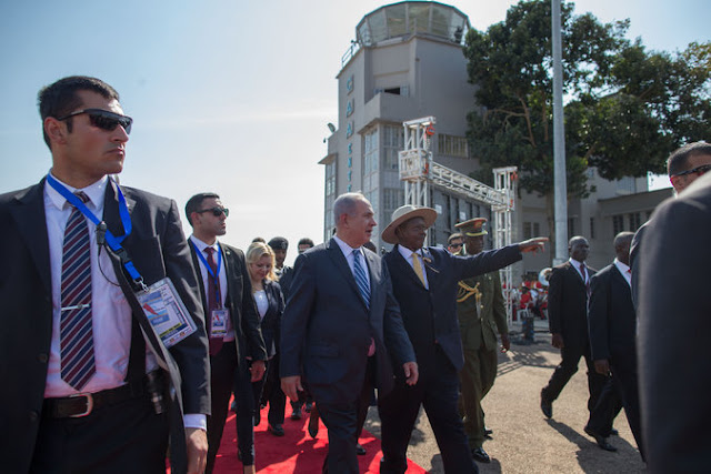 Image result for kagame and netanyahu pictures