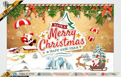 Phông nền giáng sinh - Merry Christmas đẹp - Happy New Year