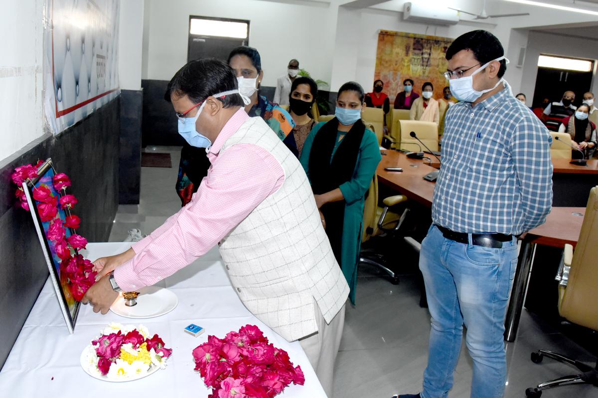 Ratlam News- नेताजी सुभाषचंद्र बोस की जयंती पर पराक्रम दिवस मनाया गया