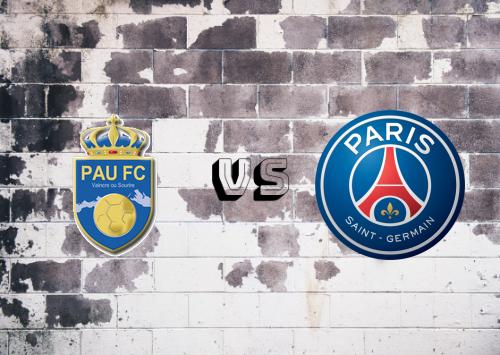 Pau vs PSG  Resumen