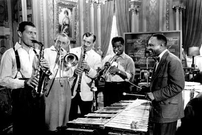 Charlie Barnett, Tommy Dorsey, Benny Goodman, Louis Armstrong, Lionel Hampton