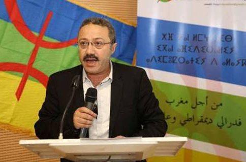 الناشط الامازيغي احمد ارحموش