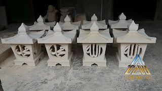 lampion pilar rumah atau masjid