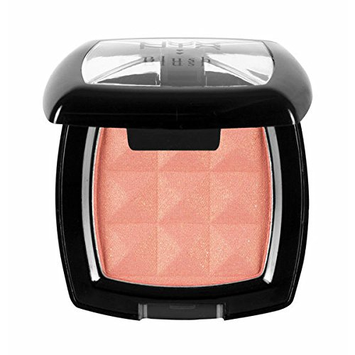 Top 5 Coral Drugstore Blushes Available in India, Indian beauty blogger, NYX Cosmetics Powder Blush Coral Dream