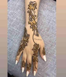 Best Arabic Mehndi Design