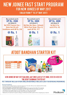 Modicare New Joinee Fast start Program - May 2017