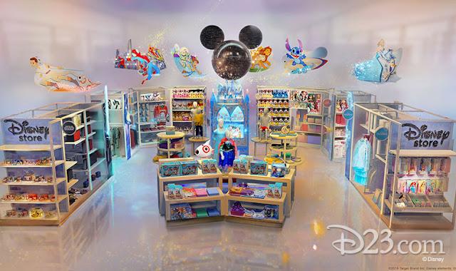 D23 Expo 2019 Disney Parks, Disney store at Target
