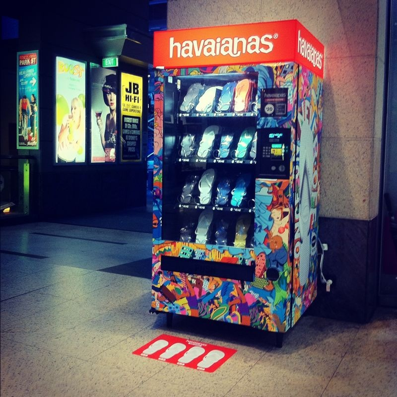 4dcd4fbe345e I ve read bout the news before that there are a few Havaianas Vending  Machines in Sydney Metro but have ...