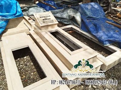 Makam Kuburan Marmer Islam, Contoh Model Makam Marmer, Makam Marmer Minimalis Tulungagung
