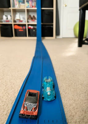 Fun activities while you're at home |  have a car race