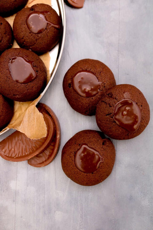 Chocolate Orange Thumbprint Cookies   Take Some Whisks