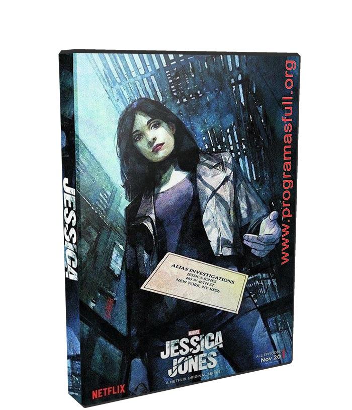 Jessica Jones Temporada 2 poster box cover