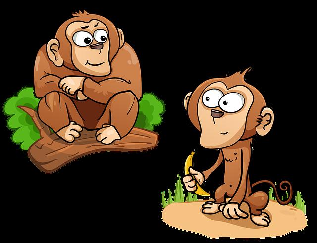 Moral Story in Hindi- डरपोक बंदर
