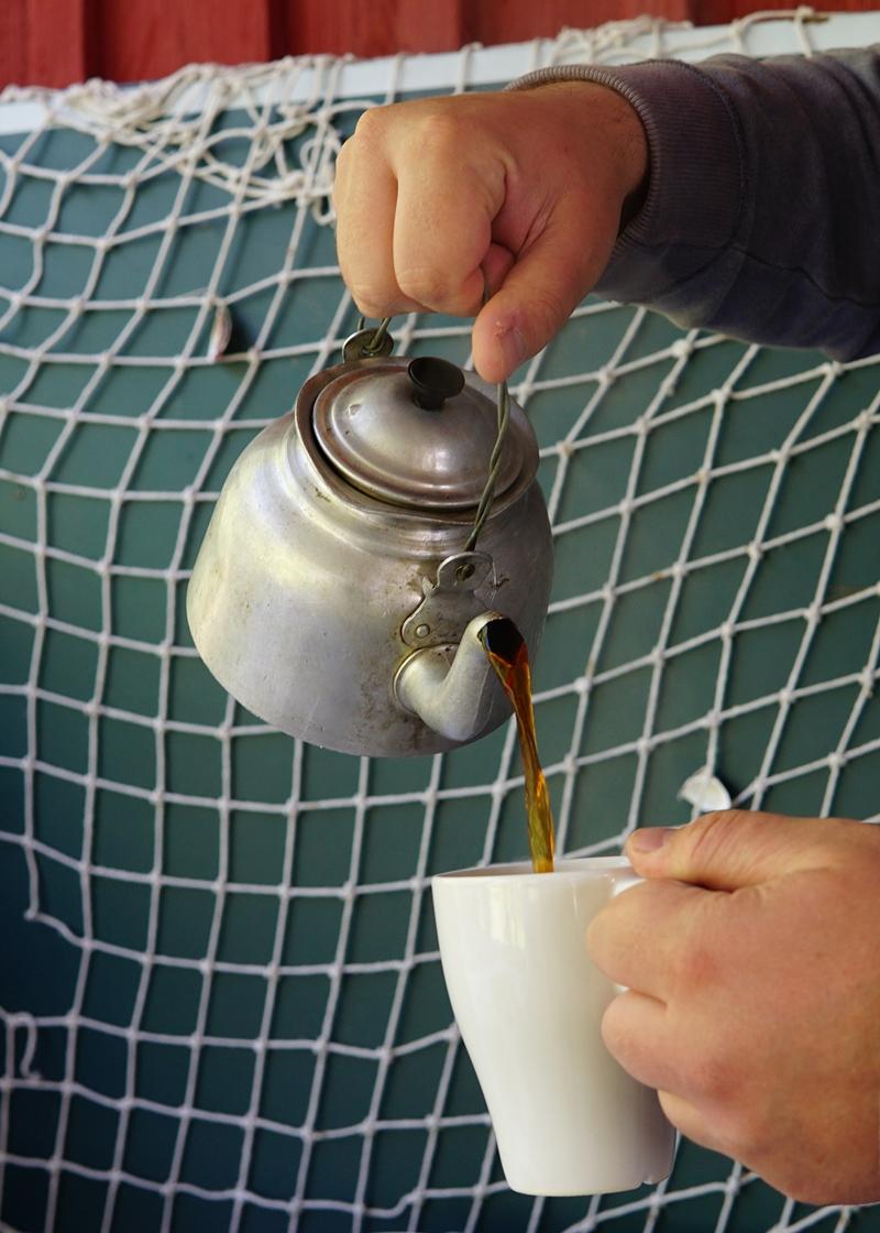 artalli, siuntio, kahvipannu
