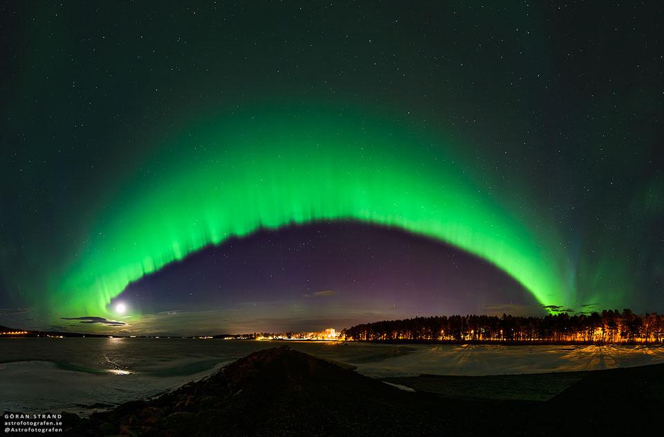 Aurora Swedia