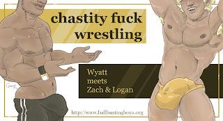 https://ballbustingboys.blogspot.com/2019/05/chastity-fuck-wrestling-wyatt-meets.html