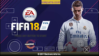 [600MB] FIFA 18 PPSSPP ISO + (Savedata Textures) Offline Untuk Android