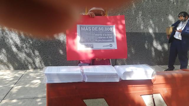 Respalda Misión Rescate México al árbitro electoral