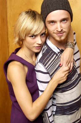 aaron paul and samaire armstrong couple dated pinkman stern