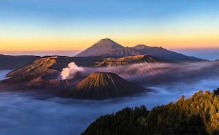 Contoh Dataran Tinggi di Pulau Jawa