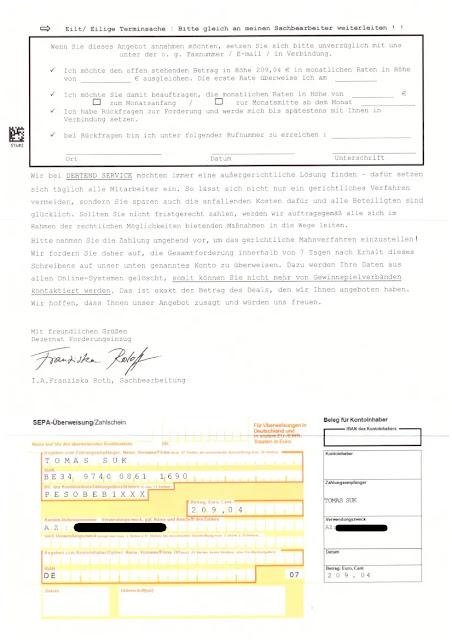 Scan: Debtend Service Mahnung / Sept 2020 / Seite 01