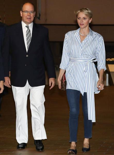 Princess Charlene Celine Mare Nostrum