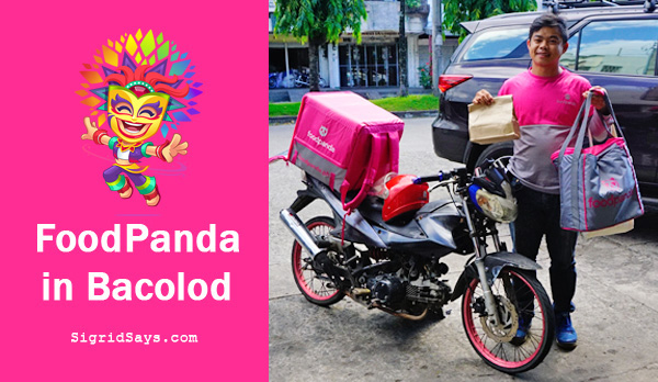 Foodpanda food delivery service - download Foodpanda app - Foodpanda for Android - Foodpanda for iOS - Foodpanda Bacolod - Foodpanda in Bacolod - food delivery service - online payment - Paypal - credit card - Delivery Hero - COD, benefits of Foodpanda - Foodpanda serves Bacolod - Bacolod restaurants partner with Foodpanda - Foodpanda and Bacolod restaurants - Bacolod restaurants - Bacolod City - Negros Occidental - Bacolod blogger  - delivery guy