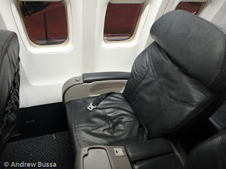 United Airlines First Class Seat 757
