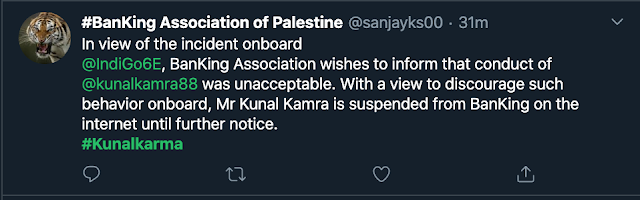 After IndiGo Airlines and Air India, SpiceJet has also suspended comedian Kunal Kamra from flying with the airline till further notice |