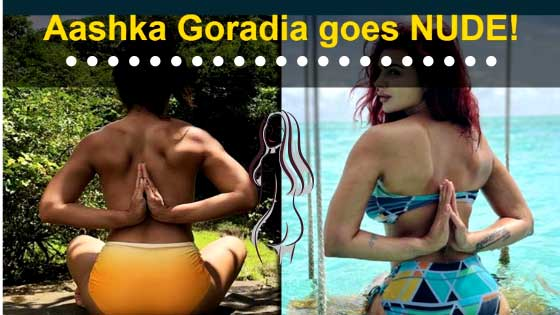 After Aashka Goradia, Abigail Pande Shares Nude Pictures Doing Yoga