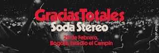 Concierto de SODA STERO en Bogotá, Colombia