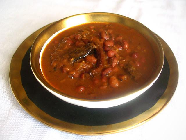 Azuki Beans in a Fragrant Spicy Tomato Gravy