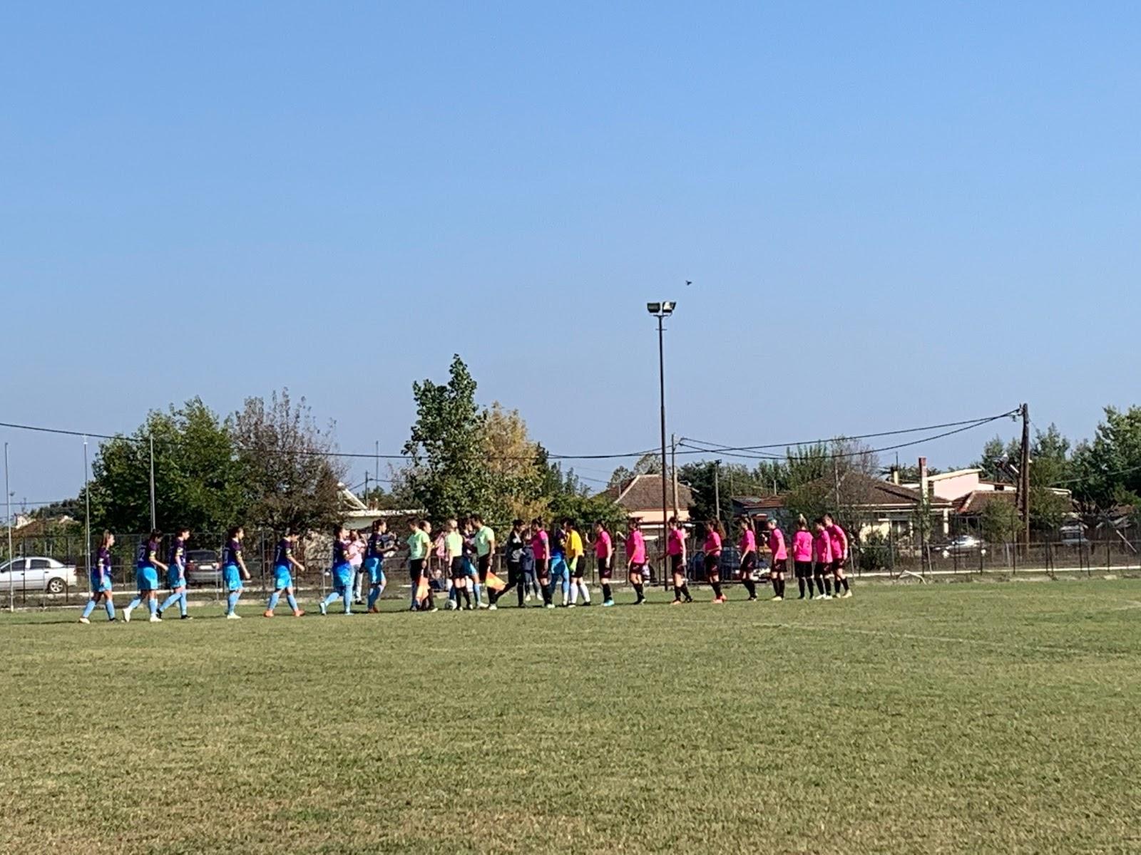 Ήττα για την ΓΙΑΝΝΕΝΑ WFC με 1-0 στην Καρδίτσα