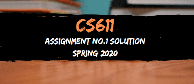cs611 assignment