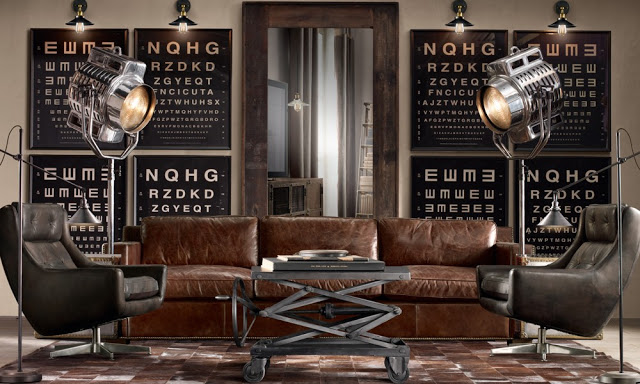 la indiana colonial divagaciones salones deco vintage industrial. Black Bedroom Furniture Sets. Home Design Ideas
