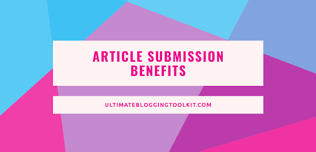 Article Submission in SEO Benefits